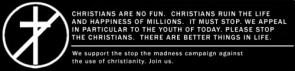 christians are no fun
