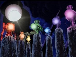 colored lanterns