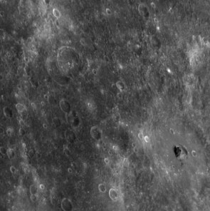 What is that strange material on Mercury?