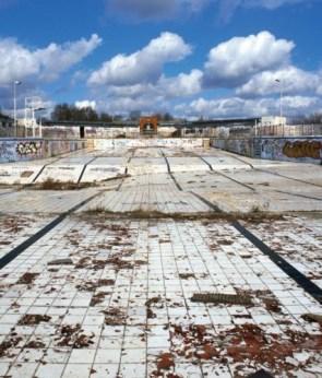 desolate pool