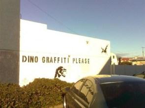 dino graffiti please