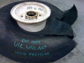do not use tire
