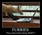 furries – they draw foxes doing WHAT