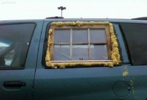 homemade window replacement