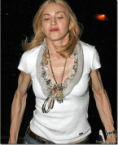 Madonna?  You've aged well…
