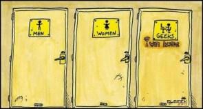 men – women – geeks