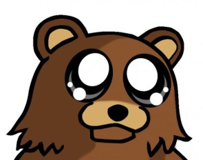 pedo bear is sad