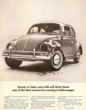 sexist vw advertisement