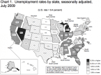 Unemployment: The Worst-Hit States In July