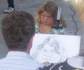 Fat Child Portrait