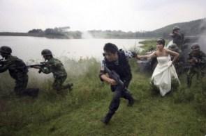 armed wedding