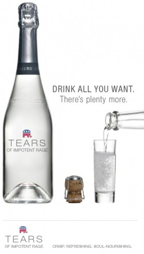drink all you want – there\'s plenty more – tears of impotent rage