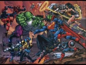 DC vs Marvel Poster