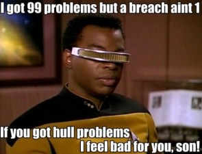 I got 99 problems but a breach aint 1