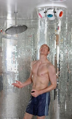 disco shower
