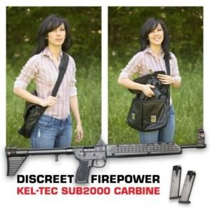 discreet firepower – kel-tec sub2000 carbine