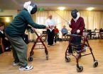 elderly fencing