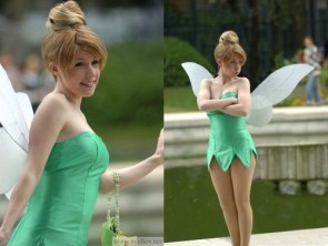 tinker bell cosplayer