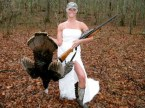 turkey hunt bride