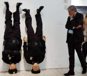upsidedown cops