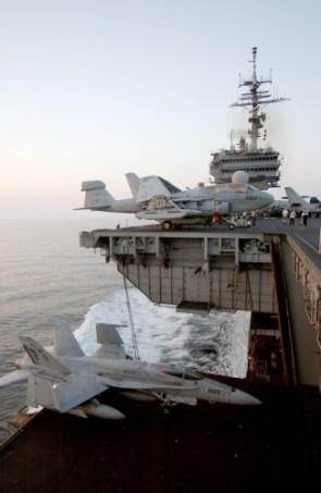 aircraft carrier elevator