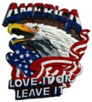 america – love it or leave it