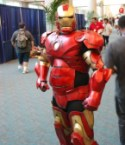 iron man cosplayer