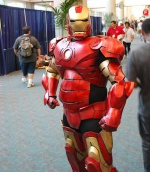 iron man cosplayer