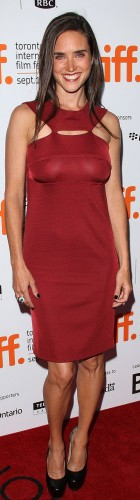 jennifer connelly – see through red dress