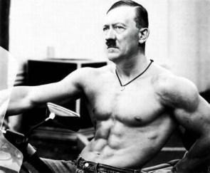 muscular hitler