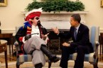 obama meets a pirate
