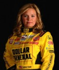 sarah fisher in flame suit