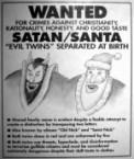 wanted – satan-santa