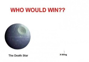 who would win – death star vs x-wing
