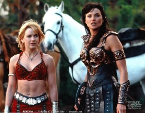 xena with hottie side kick