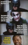 batman is worried about the franchise