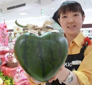 heart watermellon