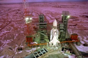russian shuttle prepped and ready