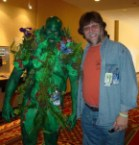 swamp thing cosplayer