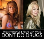 the difference 5 years makes – lindsey lohan