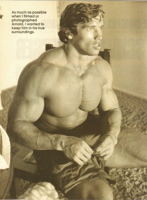 arnold looking young