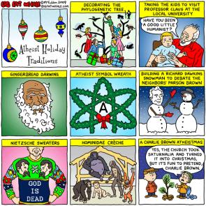 An Atheist <strike>Christmas</strike> Holiday
