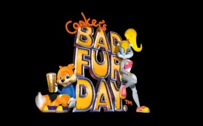 conker's bad fur day wallpaper