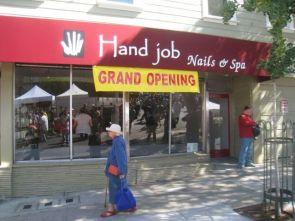 hand job nails and spa