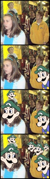luigi is everywhere