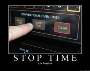 stop time – it is possible