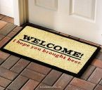 welcome – I hope you brought beer