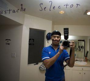 Mirror Mustache Selector