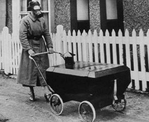 baby carriage gas mask