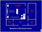 blueprint of my dream house